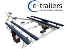 EXTREME 750kg Boat Trailer for inflatable boats up to 5.3m - made in UK